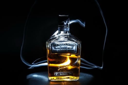 Фото бесплатно Whiskey, Jack Daniels Bottle, напиток