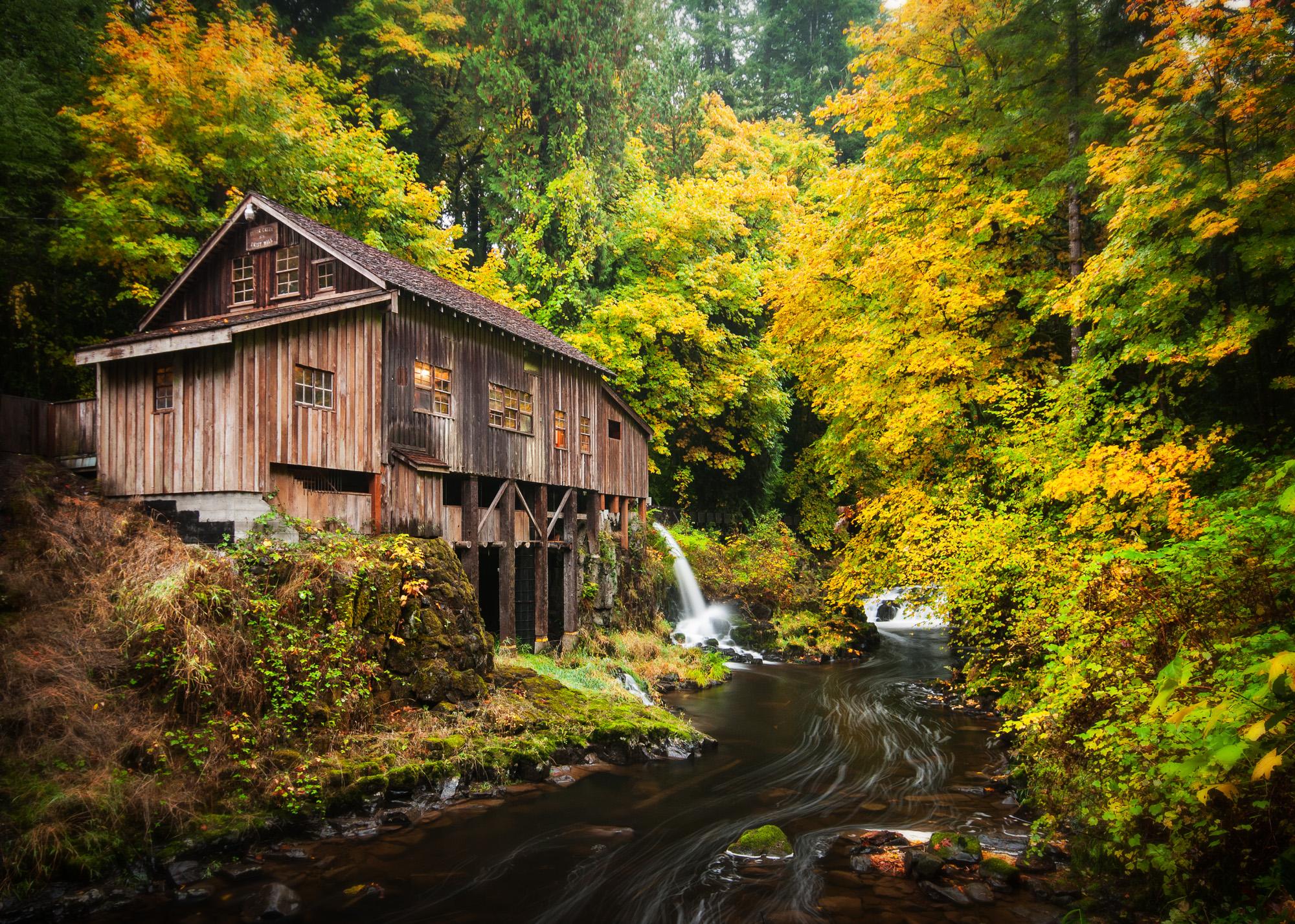 Cedar Creek Grist Mill Woodland Washington