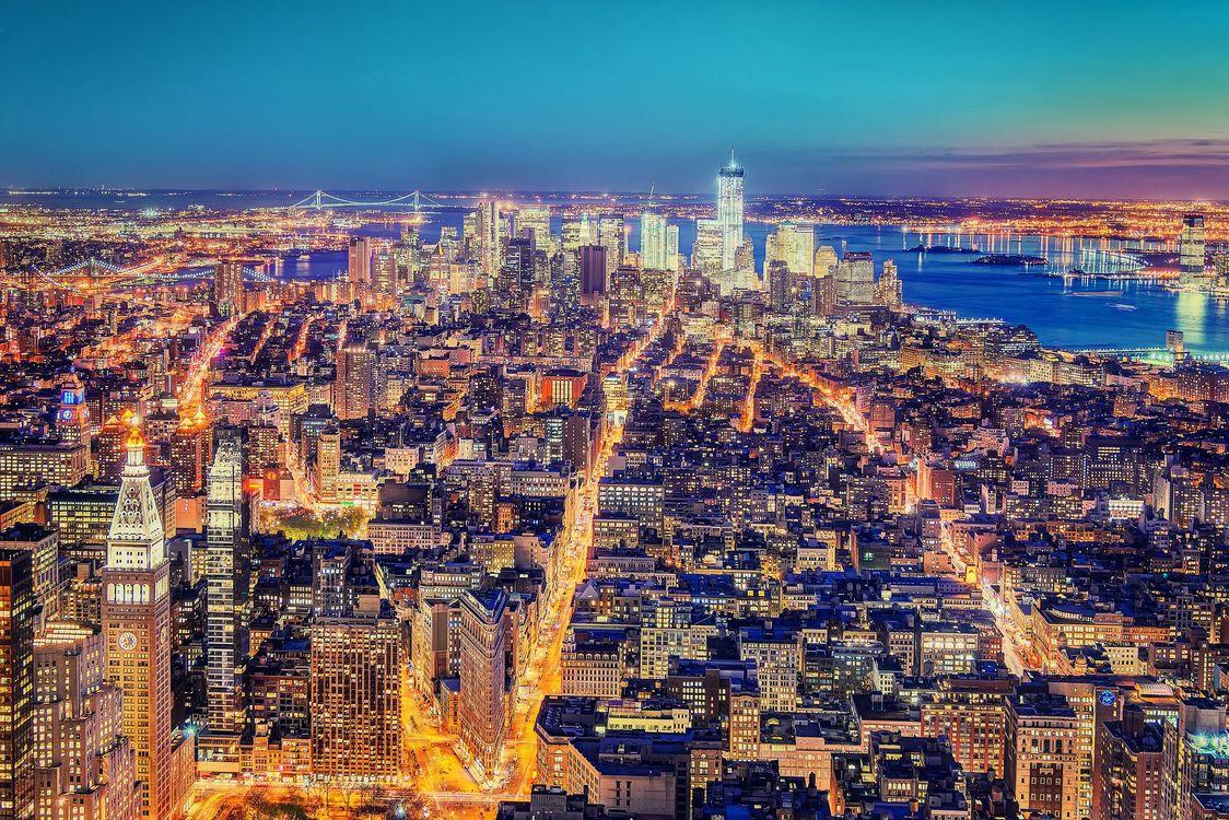 Фото бесплатно Manhattan, Манхэттен, Нью-Йорк, город
