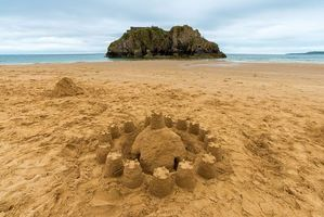 Photo free rocks, sand, sea