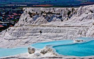 Бесплатные фото скалы, порода, белая, озера, голубые