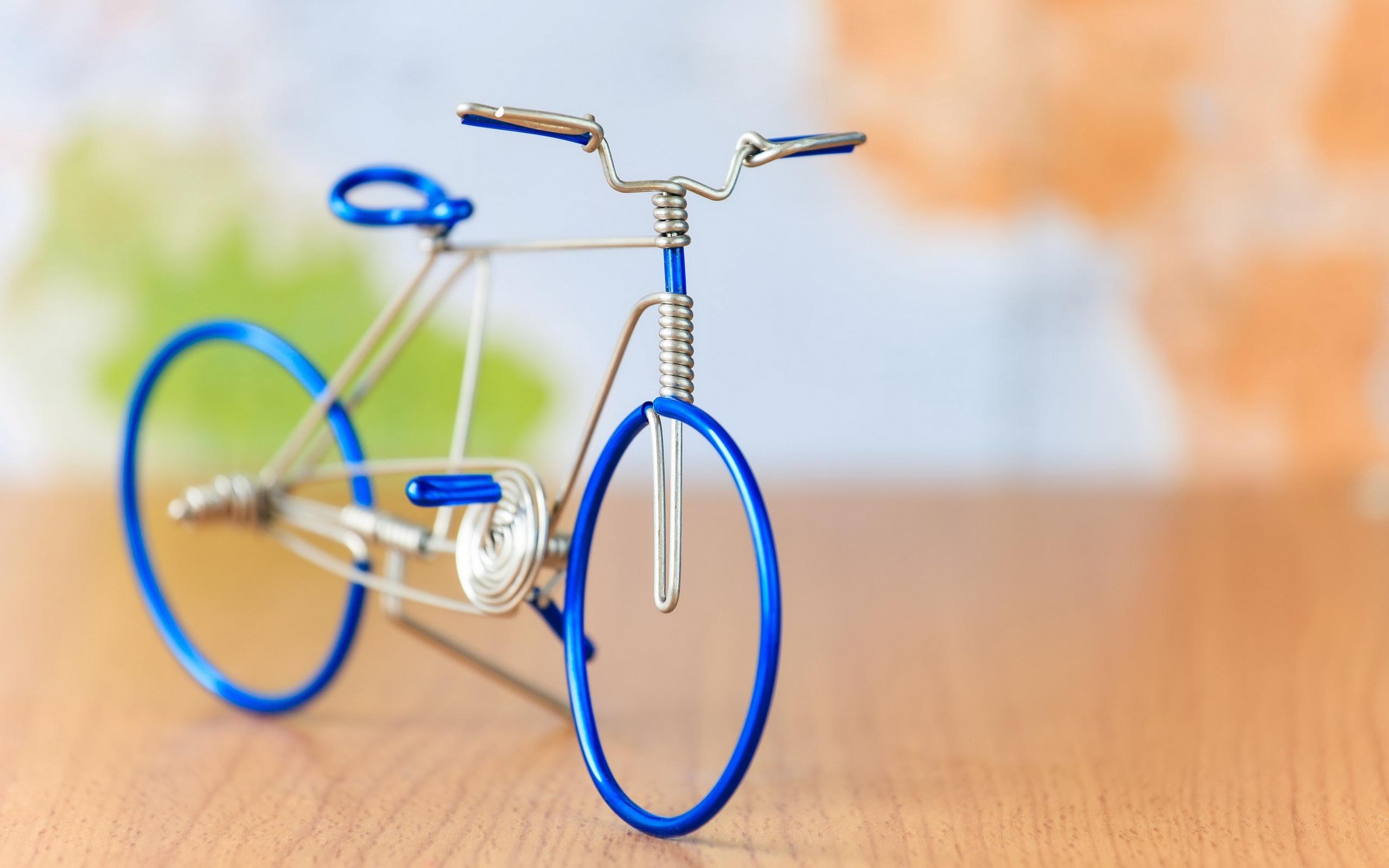 Велосипед из проволоки своими