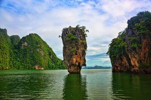 Заставки James Bond Island,Thailand,Khao Phing Kan