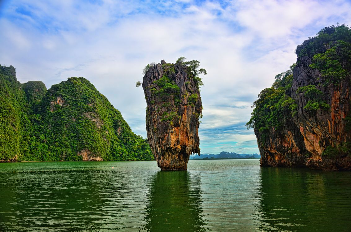 Фото бесплатно James Bond Island, Thailand, Khao Phing Kan - на рабочий стол
