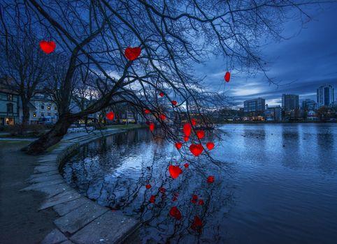 Фото бесплатно Рогаланд, Норвегия, Брейаватнет