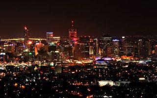 Бесплатные фото ночь,улицы,дома,высотки,огни,фонари