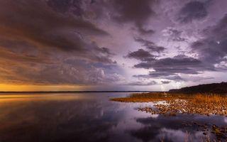 Бесплатные фото берег моря, тучи, небо, закат