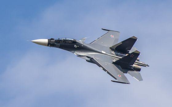 Фото бесплатно су-34, истребитель, Россия