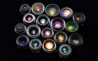 Бесплатные фото объективы,для фотоаппарата,разные,линзы,надписи,фон,черный