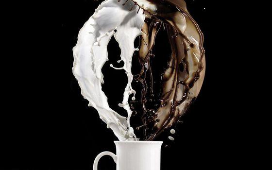 Фото бесплатно фон, кофе, кружка