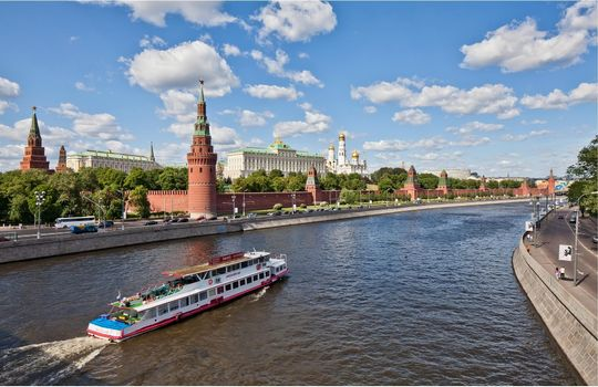 Бесплатные фото Москва,Россия,Кремль,Москва река