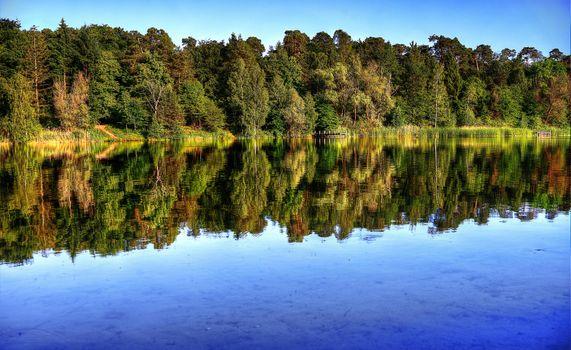 Photo free Waldsee, a lake in Walldorf, Germany