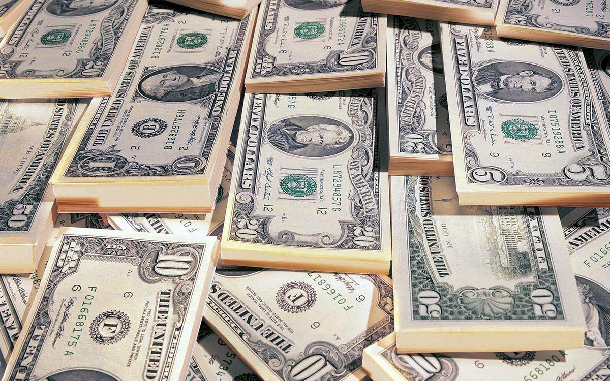Фото бесплатно доллары, купюры, банкноты, пачки, баксы, деньги