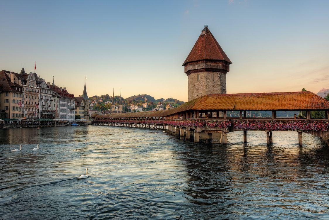 Фото бесплатно Город, Люцерн, Швейцария, город