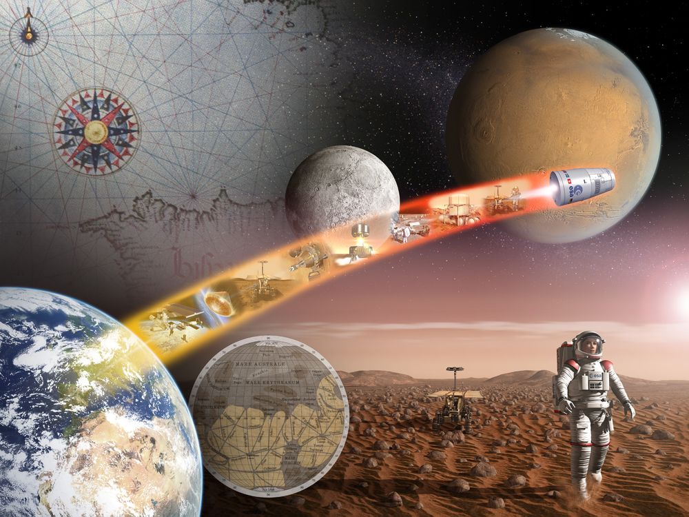 Обои космос, Земля, луна картинки на телефон