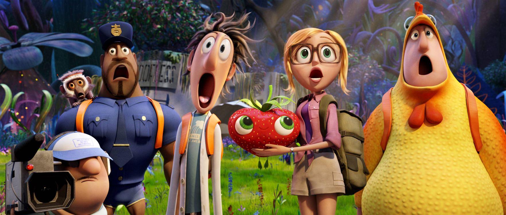 Фото бесплатно Облачно 2 Месть ГМО, Cloudy with a Chance of Meatballs 2, мультфильм, фэнтези, комедия, семейный, мультфильмы