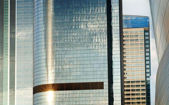 Фото бесплатно здания, высотки, стекло