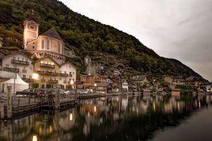 Бесплатные фото Hallstatt,Austria,Lake Hallstatt,Alps,Гальштат,Австрия,Гальштатское озеро