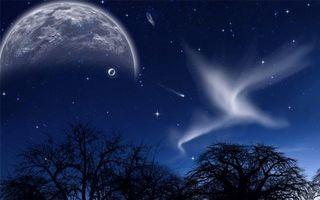 Заставки искусство, звезды, метеориты
