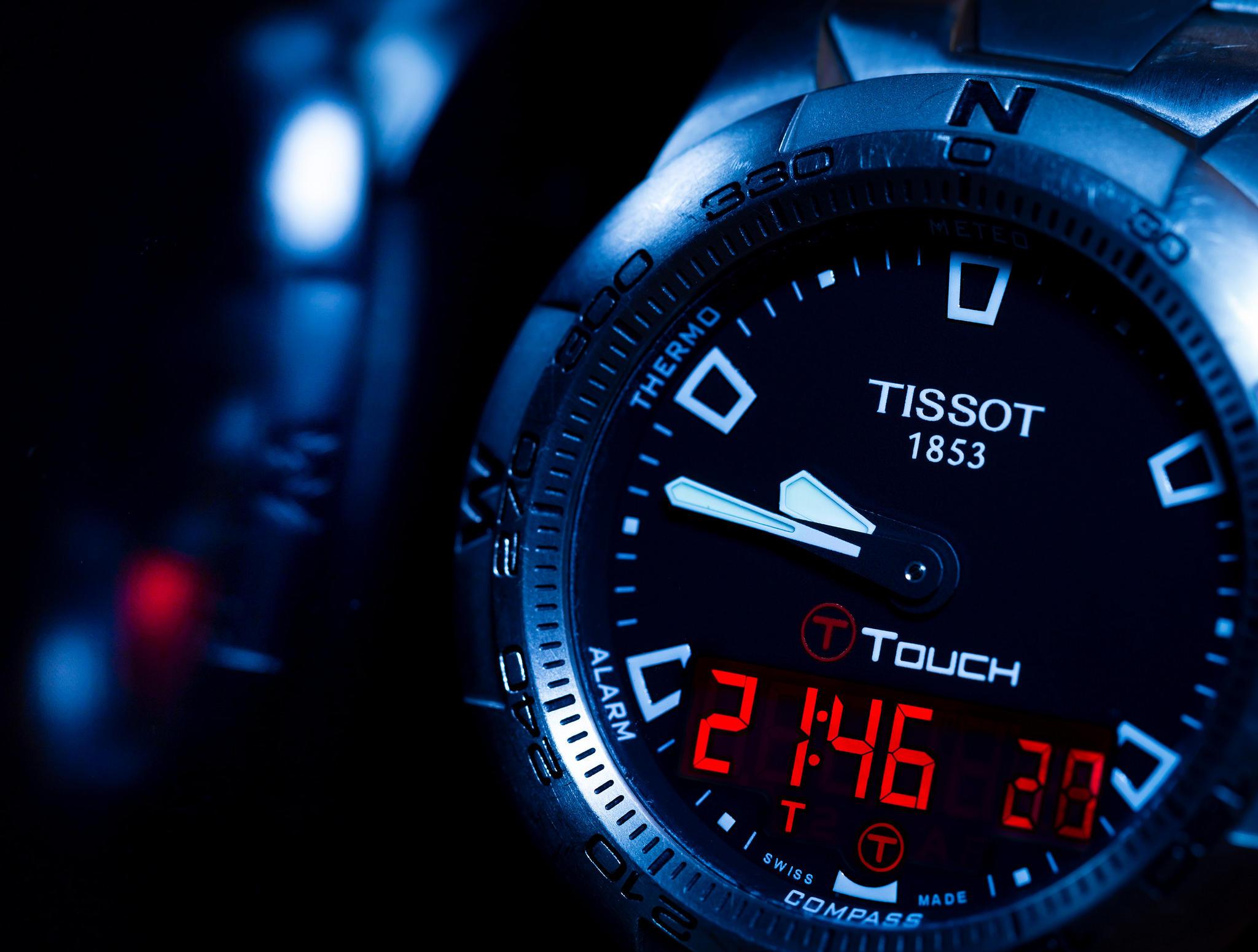 Обои часы, Tissot, Швейцария
