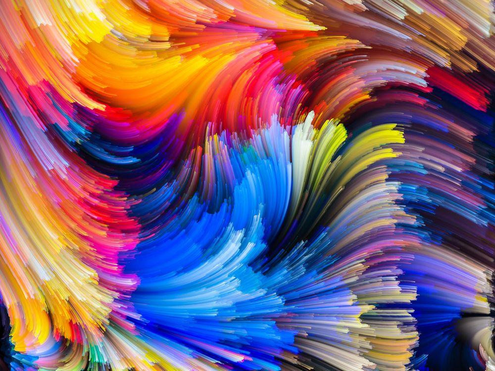 Рисунки красками · бесплатное фото