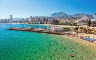 Фото бесплатно Бенидорм город, Аликанте, Испания