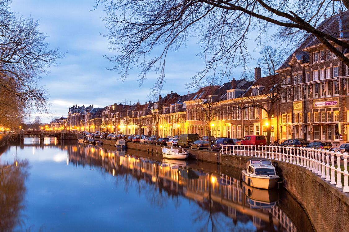Фото бесплатно Харлем, Нидерланды, город - на рабочий стол