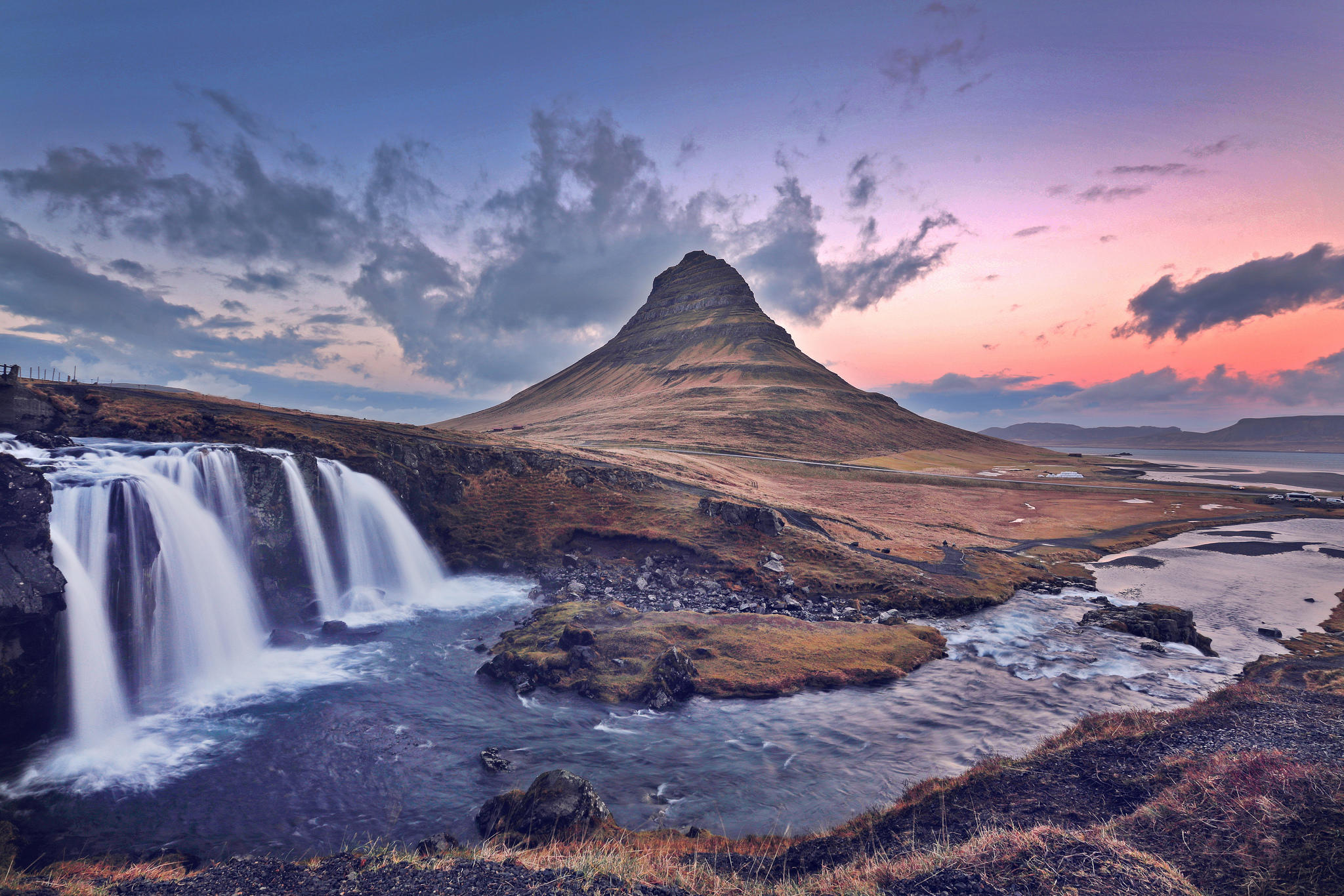 Waterfall, Kirkjufell, Iceland