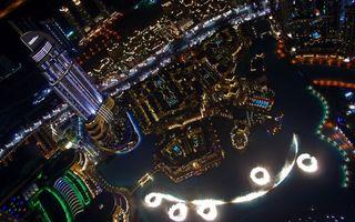 Бесплатные фото ночь,небоскреб,дома,здания,улицы,огни,подсветка