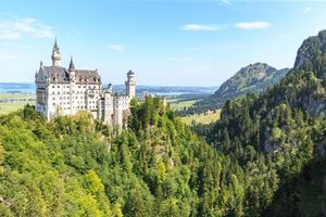 Бесплатные фото Германия,Замок Нойшванштайн,Тегельберг,Bavaria,Бавария