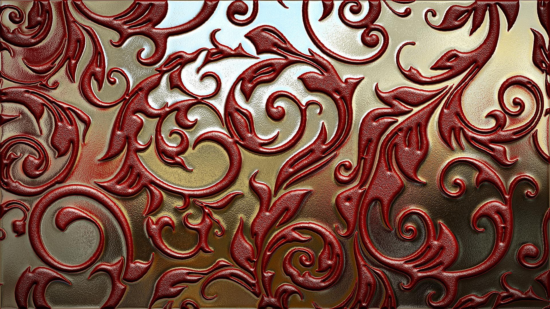 Обои орнамент, узоры, текстура