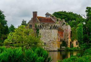 Бесплатные фото Англия,Великобритания,Кент,Замок Скотни
