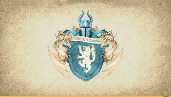 Бесплатные фото герб старков,Игры Престолов,сериал,Песни льда и пламени