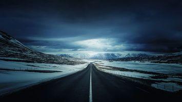 Фото бесплатно зима, горы, лед