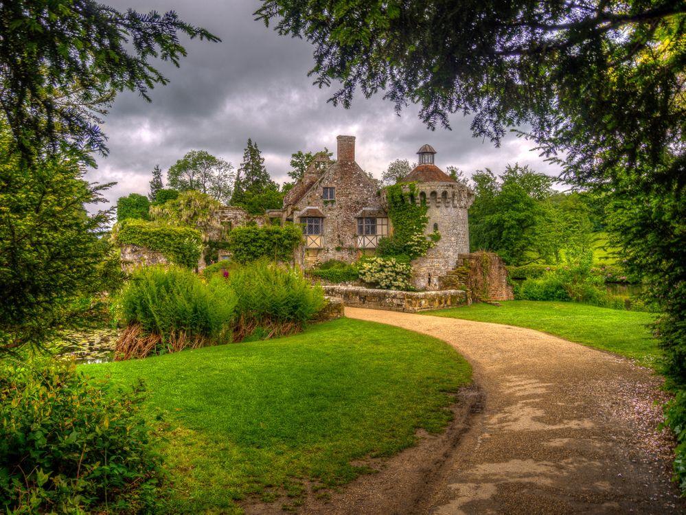 Фото бесплатно Замок Скотни, Англия, Великобритания - на рабочий стол