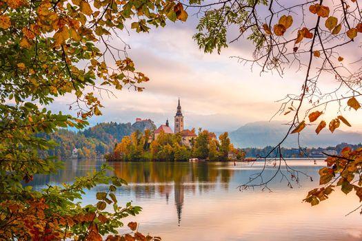 Фото бесплатно Словения, пейзажи, Lake Bled