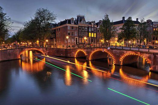 Красивые картинки амстердам, панорама скачать бесплатно