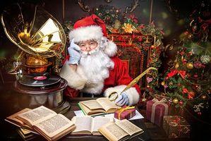 Фото бесплатно Обои Новый год, украшения, елка
