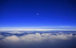 Бесплатные фото Венера,планета,вид с самолета,над облаками