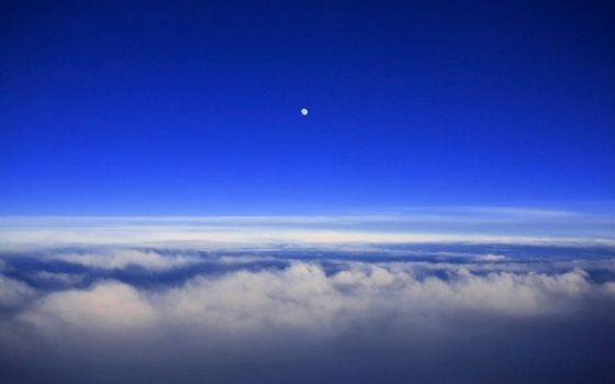 Photo free Venus, planet, view from an airplane