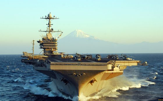 Photo free aircraft carrier, deck, aircraft