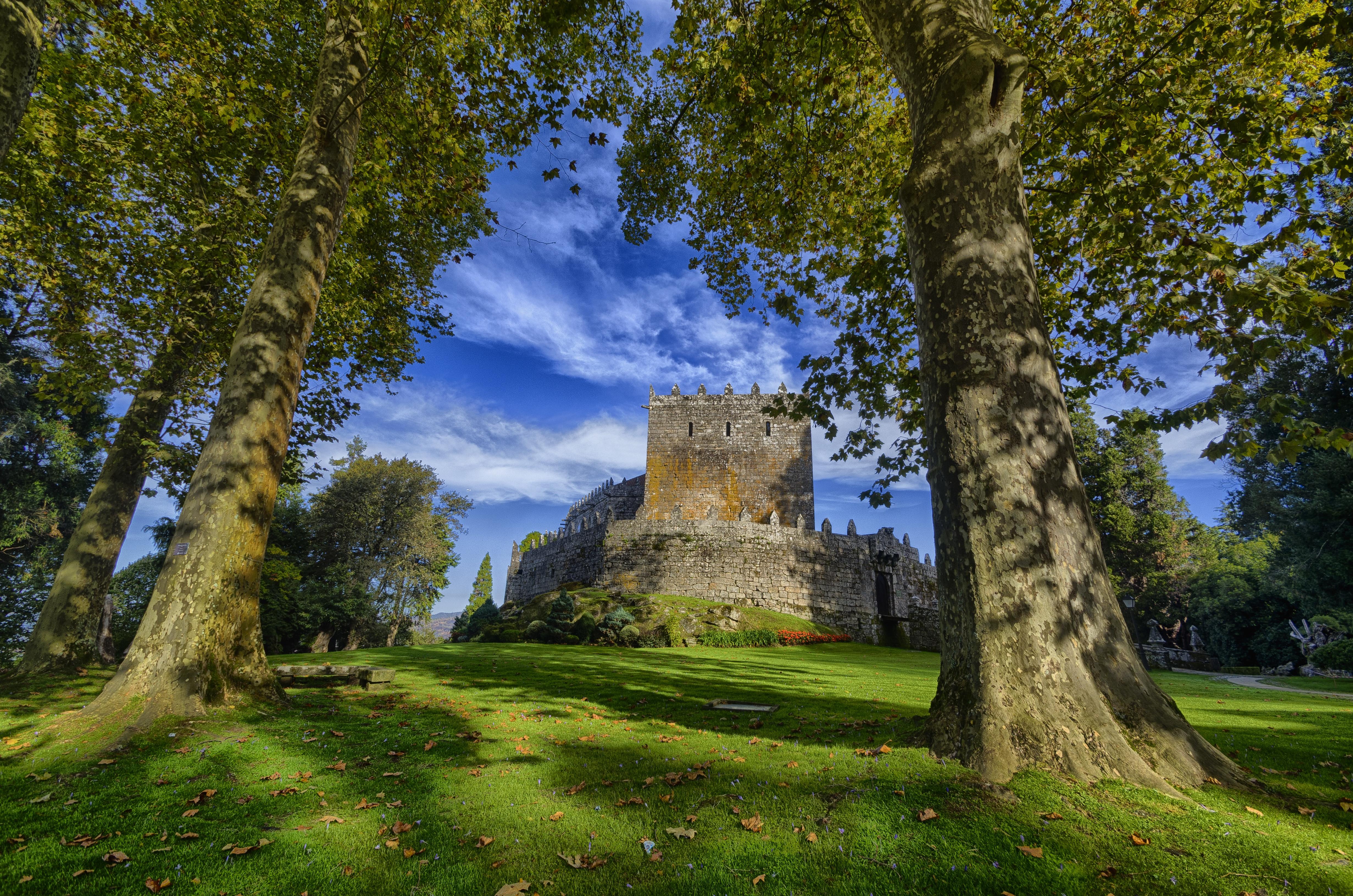 обои Замок Сотомайор, Галисия, Испания картинки фото