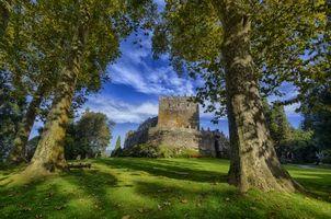 Бесплатные фото Замок Сотомайор,Галисия,Испания