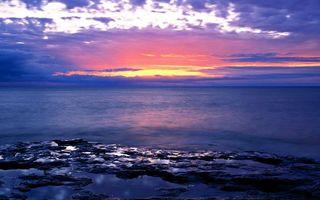 Фото бесплатно море, берег, горизонт