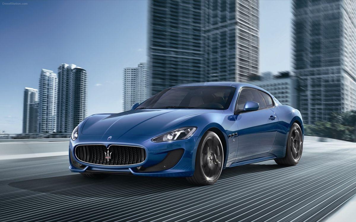 Фото бесплатно Maserati, GranTurismo, Sport - на рабочий стол