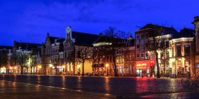 Бесплатные фото Groningen,Гронинген,Нидерланды,ночь,огни