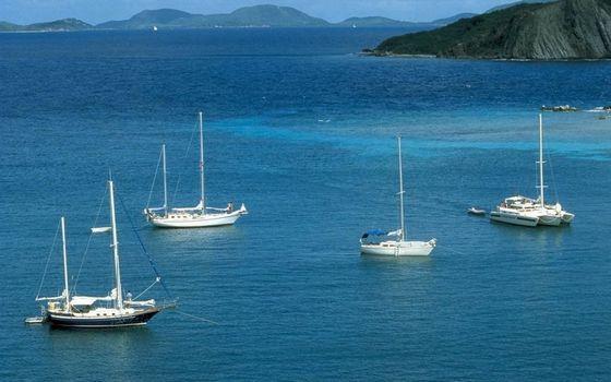 Photo free sea, islands, mountains