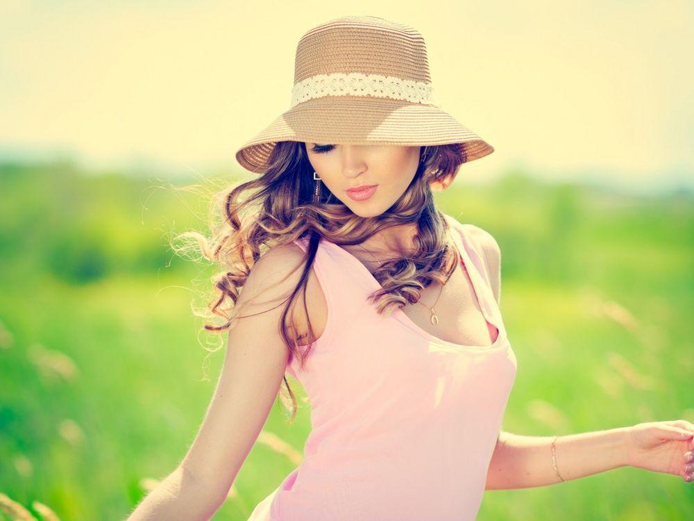 Фото бесплатно Лето, солнце, поле - на рабочий стол