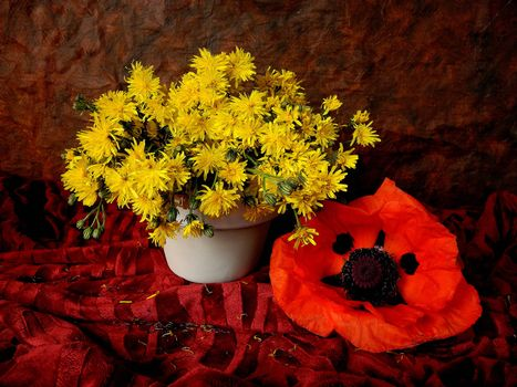 Download the picture flowers vase for desktop free