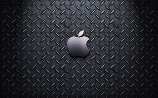Обои эпл, яблоко, логотип, эмблема, заставка